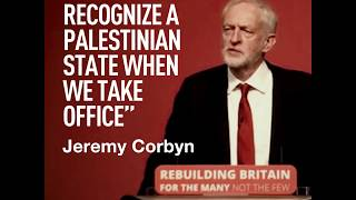 'We'll recognize a Palestinian state as soon as Labour Party takes office' – Jeremy Corbyn at #Lab18