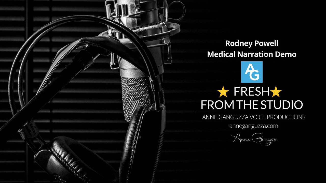 Rodney Powell  - Medical Narration Demo