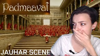 Padmaavat Last Scene | EMOTIONAL REACTION! | Indi Rossi