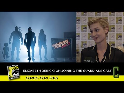 'Guardians of the Galaxy 2': Elizabeth Debicki on Her Role in the Sequel and Baby Groot