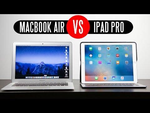 """Apple iPad Pro vs 2015 13.3"""" Macbook Air"""