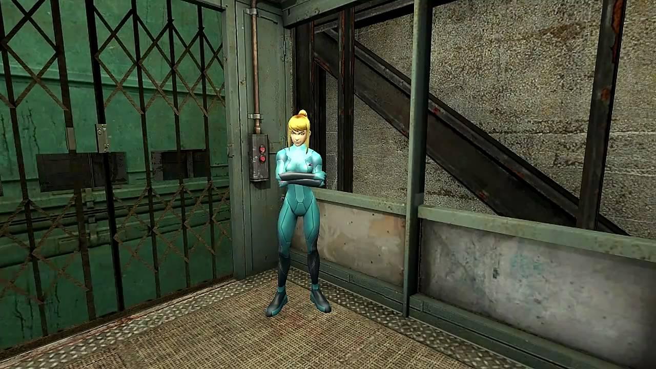 Meet Zero Suit Samus Aran in Half-Life 2 (HL2 Mod) HD ...