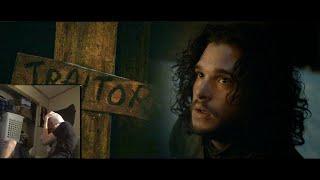 Jon Snow Death Reaction Compilation   BEST REACTIONS