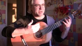 Спецпоказ гитары С.Пескова теперь для всех)))) Отдельно аудио wav формат
