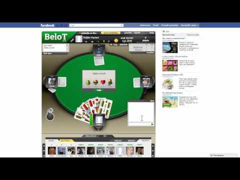izbor sobe u kojoj ćete igrati BeloT i Top lista BeloT-a
