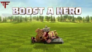 Wow! Clash Of Clans Valentine's Day Hero Boost
