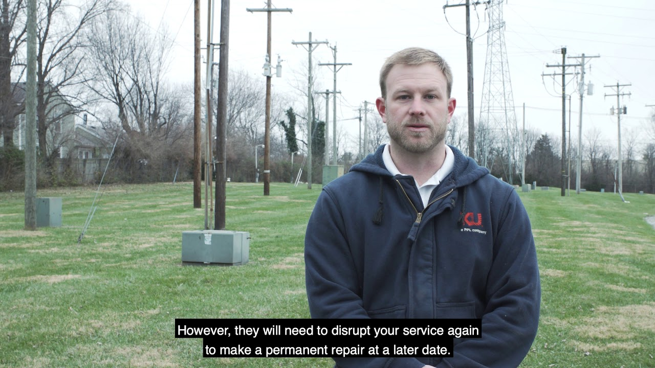 LG&E and KU Outage Q&A: Why does my power come on and then go back off?