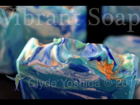 Making Seaside Cold Process Soap