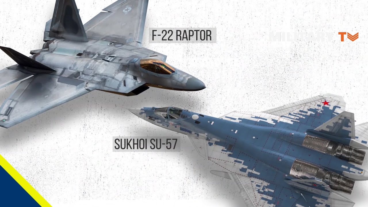 Russia Has Invested Heavily Into Its Su-57 Stealth Fighter | Can It Beat America's F-22