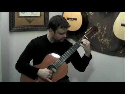 Zelda Wind Waker Ocean Theme (solo guitar)