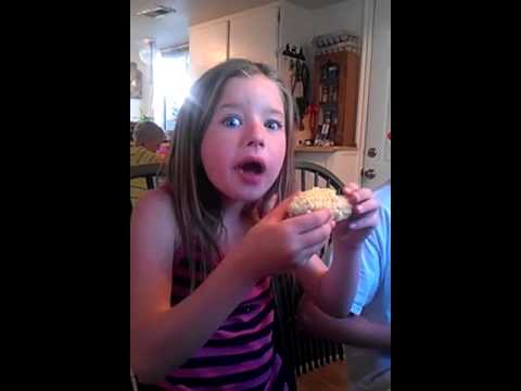 Crazy little girl