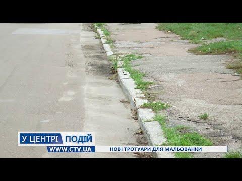 Телеканал C-TV: Нові тротуари для Мальованки