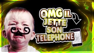 A 11 ANS IL JETTE SON TÉLÉPHONE POUR GAGNER DES ABONNES ! ENORME TROLL xD