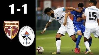 Rezumat: FC Voluntari - Gaz Metan Medias 1-1 (1-1)