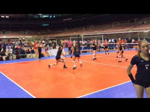 2015 Nike Mideast Qualifier Match 6 Set 1 Rapid Spikers 13 Black