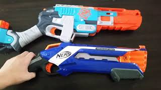Nerf rough cut 2x4 V.S. the sledgefire. Which one is better?