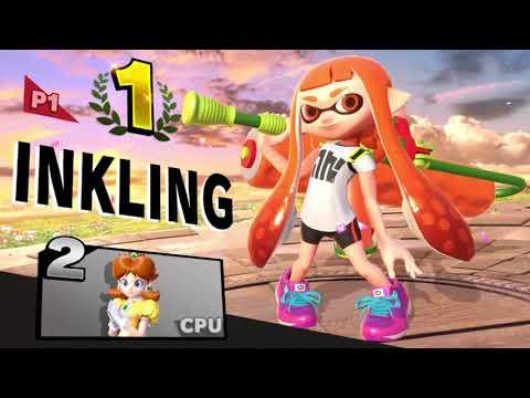 Super Smash Bros. Ultimate (Inkling Girl Killer Wail Montage)