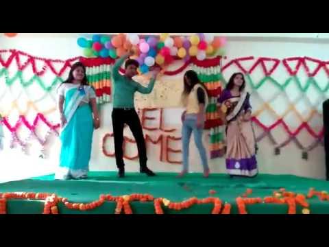 Vishal Allahabad college dance