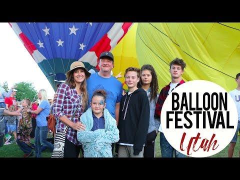 Hot Air Balloon Festival, Provo Utah