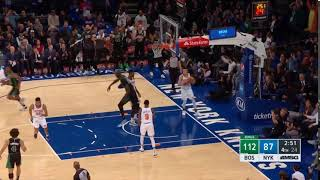 Tacko Fall gets his first nba points on a dunk