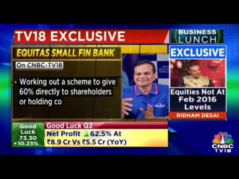Ujjivan Financial May Consider Listing Via Scheme Of Arrangement