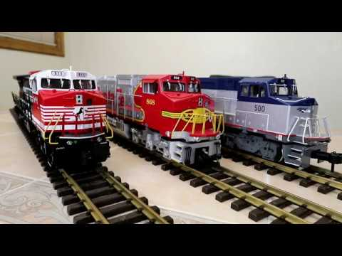 Another Big Model Train Is Added To My Collection