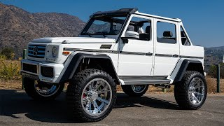 Custom Convertible G Wagon 4x4 Squared Mercedes Benz.