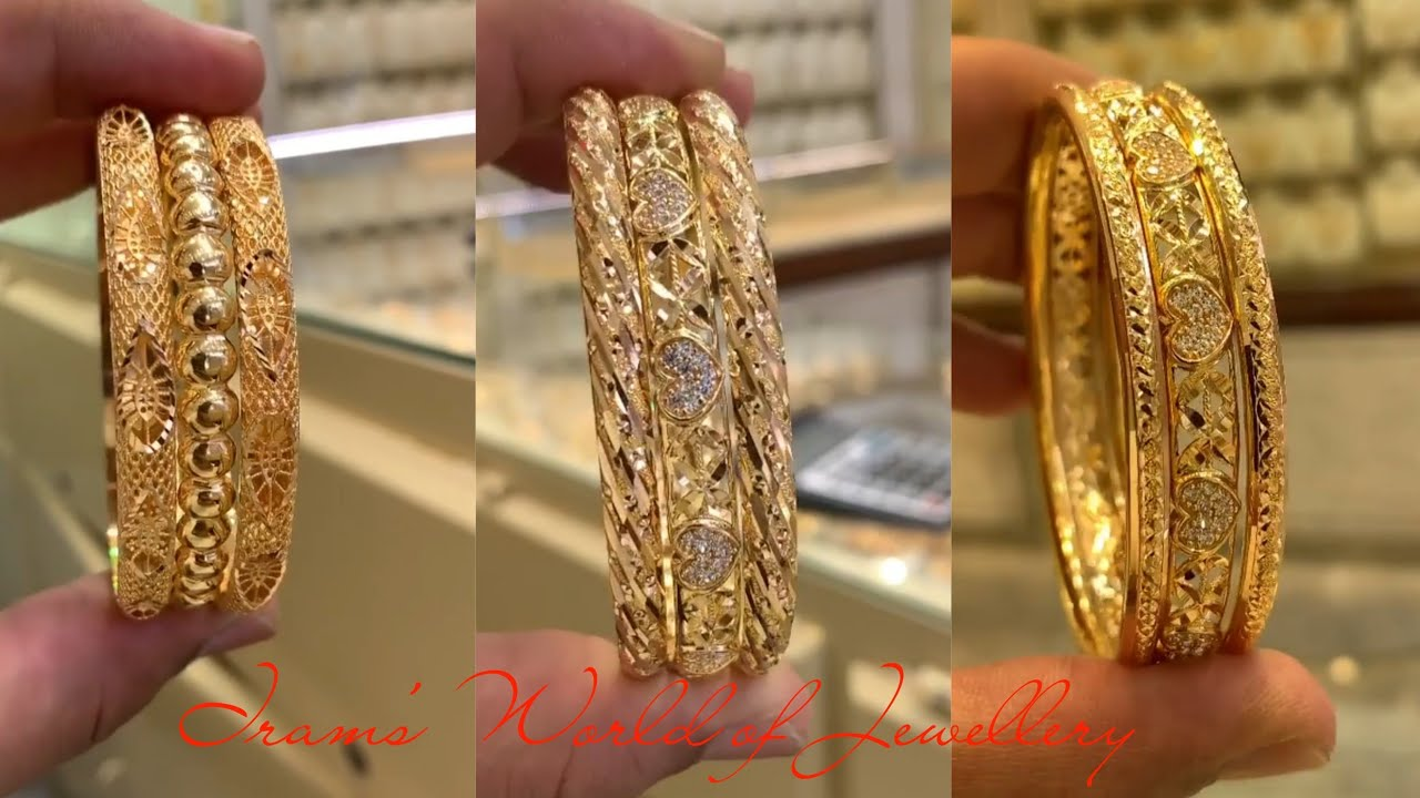 Unique Gold Bangles Designs 2020