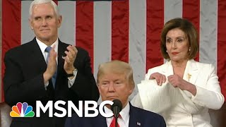 Trump's Wild State Of The Union Underscores Capitol Hill's Deep Divisions | The 11th Hour | MSNBC