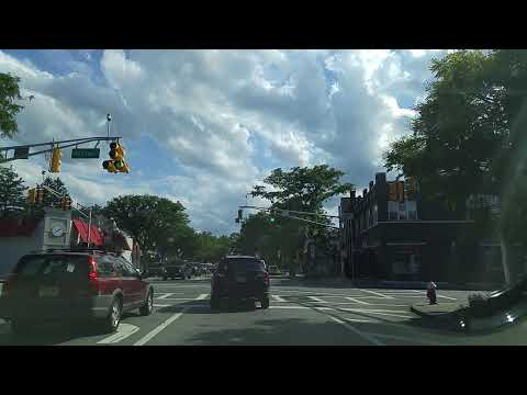 Driving By Leonia,New Jersey