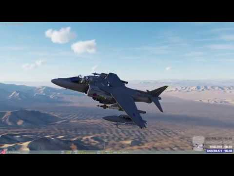 DCS World - AV-8B Harrier Practice - Nevada 2.2