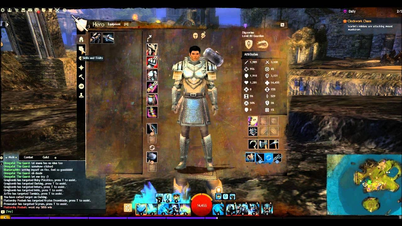 Guild war 2 guardian build