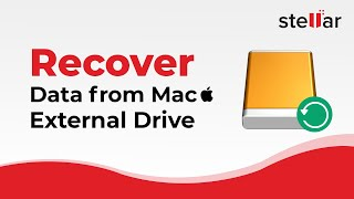 How to use Stellar Phoenix Mac Recovery on External Drive