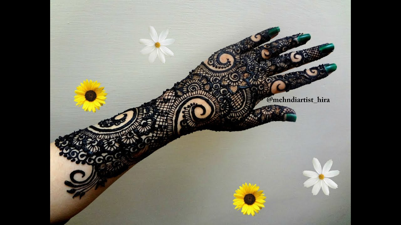 Henna Tattoo Designs For Diwali: Best And Beautiful Bridal Henna Mehndi Designs For Hands
