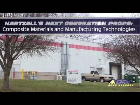 Aero-TV: Hartzell's Next Generation Props--Composite Materials and Manufacturing