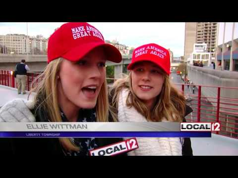 Supporters & Protesters: Different views of USA under Trump
