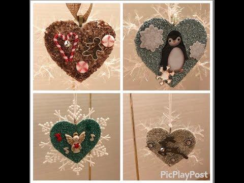 Beautiful DIY Christmas ornaments- 12 Days of Christmas Series # 3 Day 3