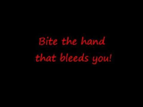 Bite the Hand That Bleeds - Fear Factory w/lyrics