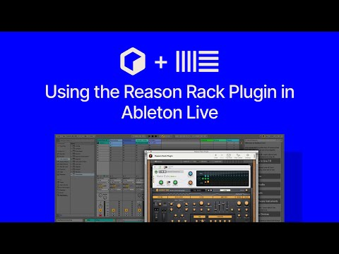 Getting up and running with Reason in Ableton Live