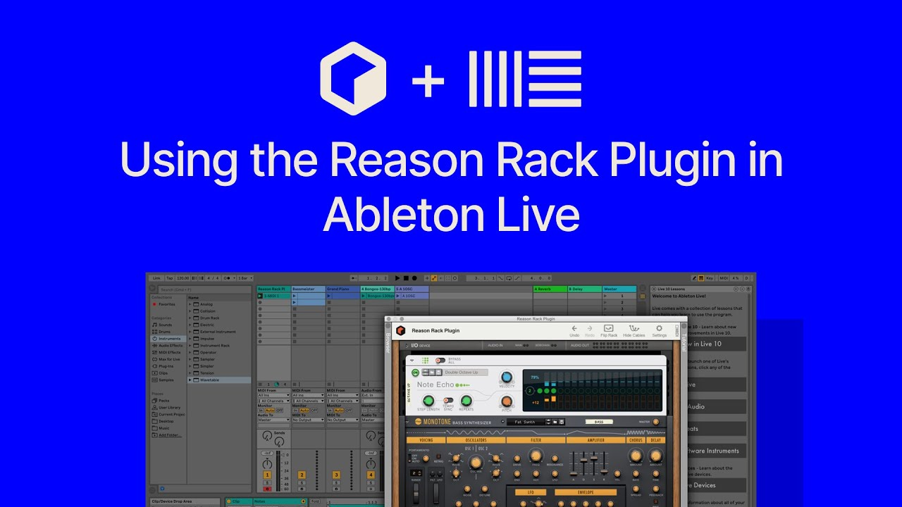reason 11 rack plugin in ableton fl