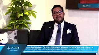 Cadefi   Charla Fiscal entre Amigos: Principales tópicos del Lavado de Dinero