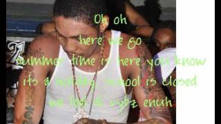 Vybz Kartel - Summer Time (LYRICS on screen) High Quality