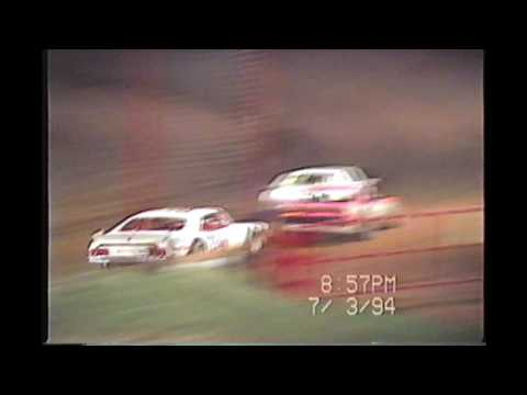 Rome Speedway 1994 Racing Action!