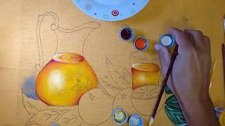Roberto Ferreira – Novo projeto – Pintura em tecido