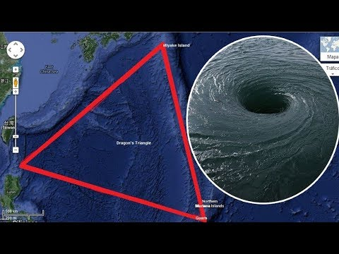 The MYSTERIOUS Dragon's Triangle(Pacific Bermuda Triangle)