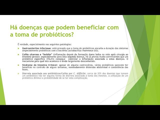Probióticos em Gastrenterologia