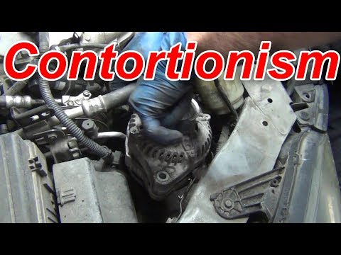 3 Ways to Extract a Honda Odyssey Alternator in 3 minutes