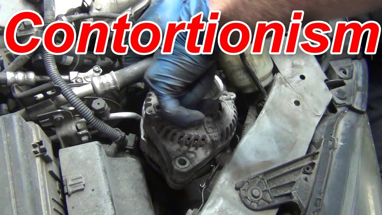 2017 Honda Odyssey >> 3 Ways to Extract a Honda Odyssey Alternator in 3 minutes - YouTube