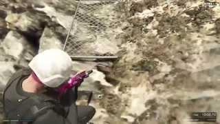 Snowboarding in GTA Online! (GTA V Gameplay)