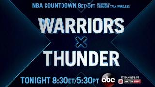 Saturday Night Primetime on ABC Mashup: Warriors-Thunder